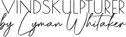 Vindskulptur logo sort